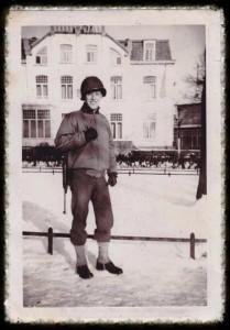 Dad in Holland 1944