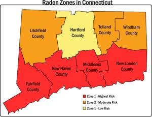 CT radon map