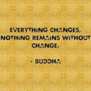 Change - Buddha