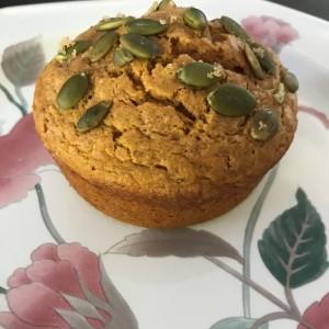 Pumpkin Sour Cream Muffins